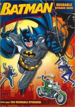 Batman Classic: the Bat-tastic Reusable Sticker Book!: A Giant Sticker Activity Book