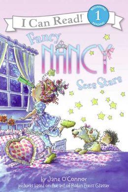 Fancy Nancy Sees Stars (I Can Read Book 1 Series)