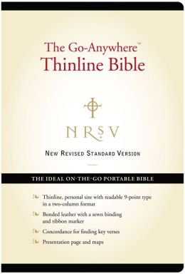The Go-Anywhere Thinline Bible (NRSV)