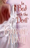 Book Cover Image. Title: In Bed with the Devil, Author: Lorraine Heath