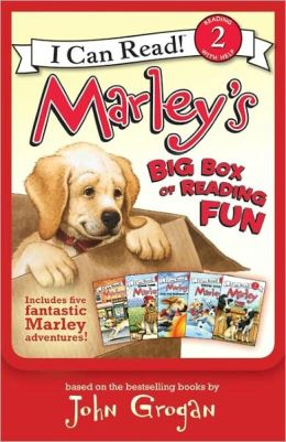 Marley's Big Box of Reading Fun: Contains Marley: Farm Dog; Marley: Marley's Big Adventure; Marley: Snow Dog Marley; Marley: Strike Three, Marley!; and Marley: Marley and the Runaway Pumpkin
