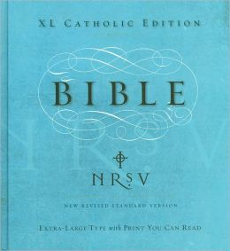 NRSV XL Bible, Catholic Edition, Anglicized Text