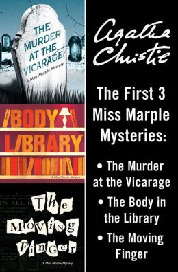 Miss Marple Bundle: The Murder at the Vicarage, The Body in the Library, and The Moving Finger