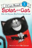 Book Cover Image. Title: Splat the Cat:  Splat and Seymour, Best Friends Forevermore, Author: Rob Scotton