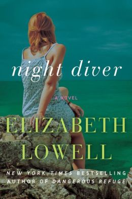 The cover of Night Diver by Elizabeth Lowell