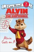 Book Cover Image. Title: Alvin and the Chipmunks:  Alvin Gets an A, Author: Kirsten Mayer
