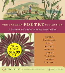 Caedmon Poetry Collection:A Century of Poets Reading Their Work Low-Price CD: Caedmon Poetry Collection:A Century of Poets Reading Their Work Low-Price CD