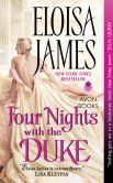 Book Cover Image. Title: Four Nights with the Duke, Author: Eloisa James