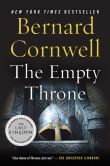 Book Cover Image. Title: The Empty Throne (Saxon Tales #8), Author: Bernard Cornwell