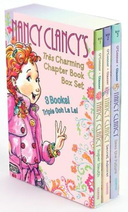 Nancy Clancy's Tres Charming Chapter Book Box Set: Books 1-3