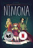 Book Cover Image. Title: Nimona, Author: Noelle Stevenson