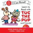 Book Cover Image. Title: Learn to Read with Tug the Pup and Friends! Set 1:  Books 1-5, Author: Dr.Julie M. Wood