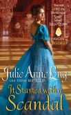 Book Cover Image. Title: It Started with a Scandal:  Pennyroyal Green Series, Author: Julie Anne Long