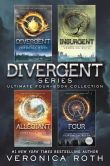 Book Cover Image. Title: The Divergent Library:  Divergent; Insurgent; Allegiant; Four: The Transfer, The Initiate, The Son, and The Traitor, Author: Veronica Roth