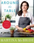 Book Cover Image. Title: Around the Table:  Recipes and Inspiration for Gatherings Throughout the Year (Signed Book), Author: Martina McBride