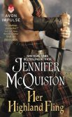 Book Cover Image. Title: Her Highland Fling:  A Novella, Author: Jennifer McQuiston