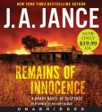 Book Cover Image. Title: Remains of Innocence (Joanna Brady Series #16), Author: J. A. Jance