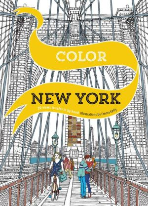 Color New York: 20 Views to Color in by Hand