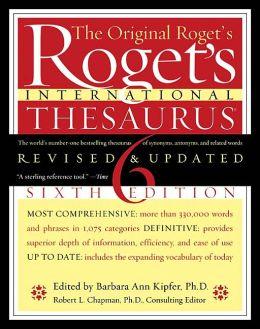 Roget's International Thesaurus, 6e