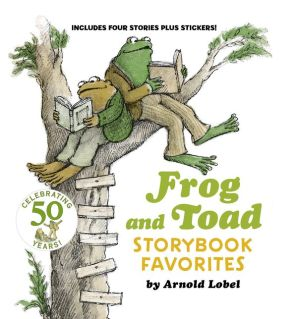 Frog and Toad Storybook Favorites: Includes 4 Stories Plus Stickers!