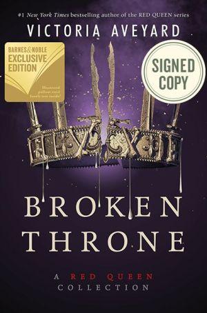 Book Broken Throne: A Red Queen Collection