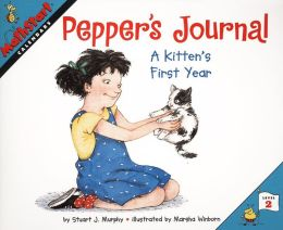 Pepper's Journal: A Kitten's First Year (MathStart 2 Series)