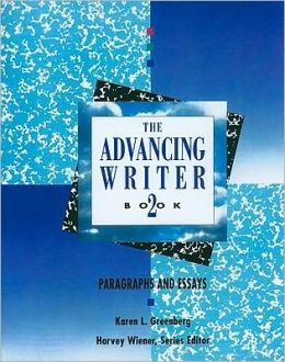 Advancing Writer: Paragraphs and Essays