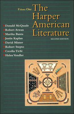 Harper American Literature, Volume I
