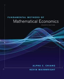 Fundamental Methods of Mathematical Economics