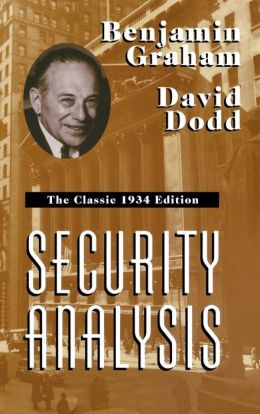 Security Analysis: The Classic 1934