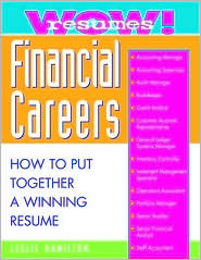 Wow! Resumes for Financial Careers