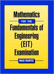 Mathematics for the Fundamentals of Engineering Examination