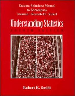 Understanding Statistics (Student Manual to accompany Text)
