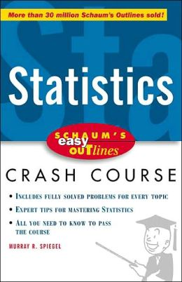 Schaum's Easy Outline: Statistics