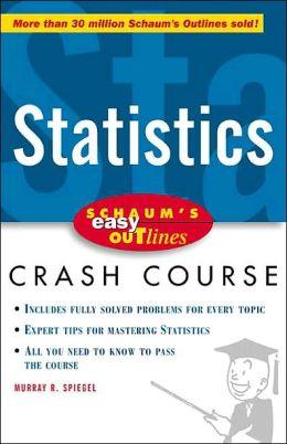 Schaum's Easy Outline: Statistics