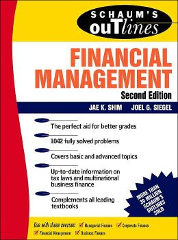 Schaum's Outline of Financial Management