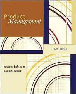 Product Management. Donald R. Lehmann, Russell S. Winer