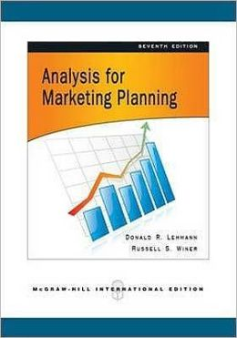 Analysis for Market Planning.