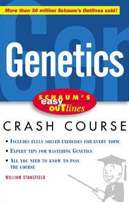 Schaum's Easy Outline Of Genetics