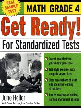 Get Ready! for Standardized Tests, Math Grade 4