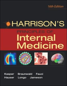 Harrison's Principles of Internal Medicine, Volume 1 only (This is not the Single Volume version)