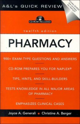 Pharmacy: A&L's Quick Review (CD-ROM Included)