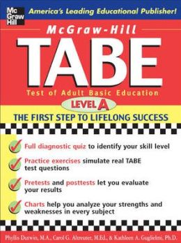Tabe: Test of Adult Basic Education: The First Step to Lifelong Success (Level A)