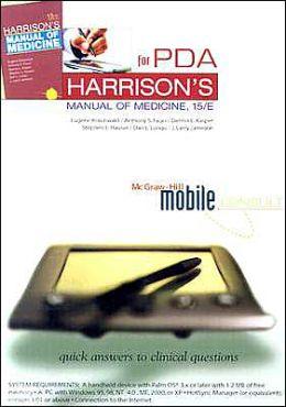 Harrison's Manual of Medicine, PDA/Book Pack