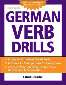 German Verb Drills (Language Verb Drills Series)