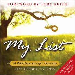 My List: 24 Reflections on Life's Priorities