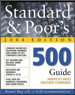 Standard and Poor's 500 Guide 2004