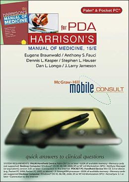Harrison's Manual of Medicine for PDA: Palm & Pocket PC