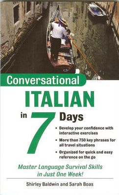 Conversational Italian in 7 Days with CD