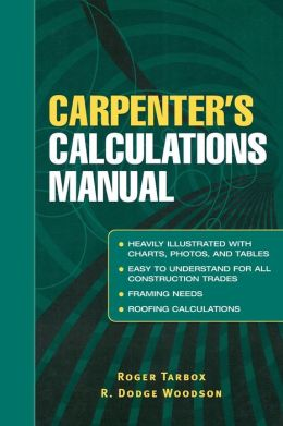 Carpenter's Calculations Manual